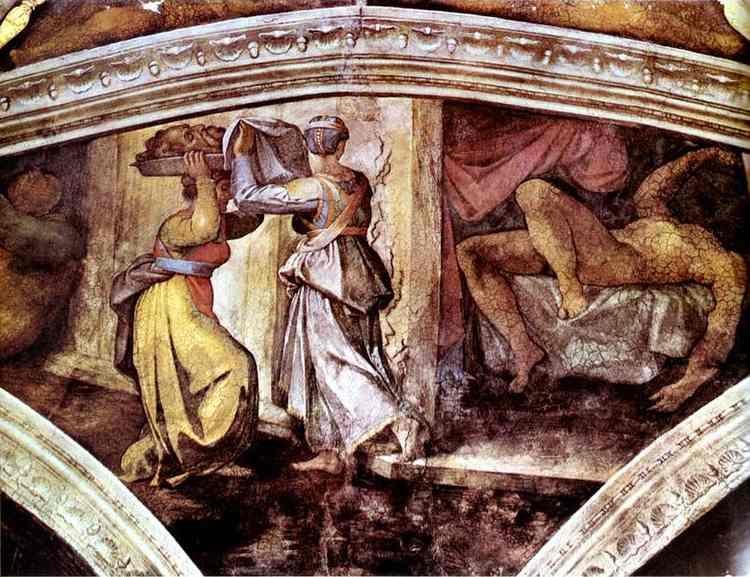 Sistine Chapel Judith