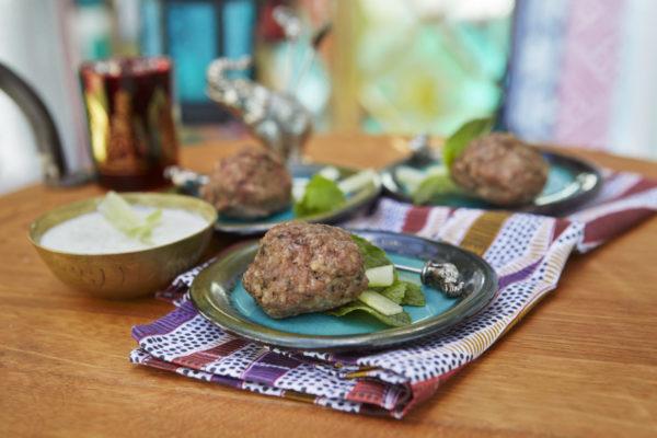 Sephardic Lamb Meatballs with Kosher Cashew Dipping Sauce