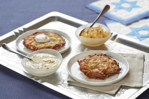 לביבות תפוחי אדמה (לאטקעס)